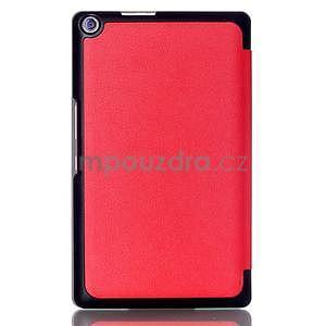 Trojpolohové puzdro na tablet Asus ZenPad 8.0 Z380C - červené - 2
