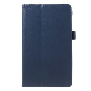 Safety koženkové puzdro pre Asus ZenPad C 7.0 Z170MG - tmavomodré - 2