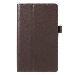 Safety koženkové puzdro na Asus ZenPad C 7.0 Z170MG - hnedé - 2