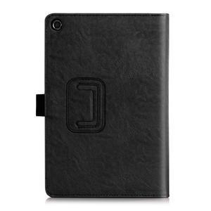 Polohovatelné koženkové puzdro na tablet Asus ZenPad S 8.0 -  čierne - 2