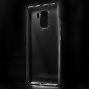 Transparentný gélový obal pre telefón Honor 7 - šedý - 2