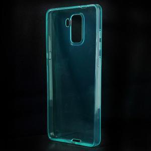 Transparentný gélový obal na telefón Honor 7 - azurový - 2