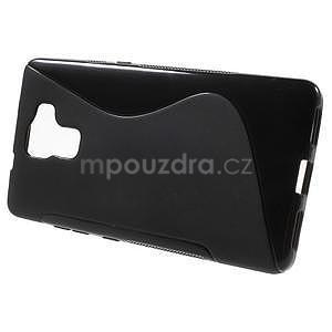Čierny gélový kryt S-line pre Huawei Honor 7 - 2