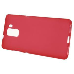 Červené gélové puzdro na mobil Honor 7 - 2