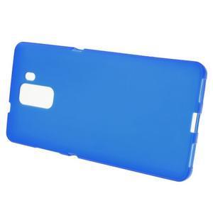 Modré gélové puzdro na mobil Honor 7 - 2