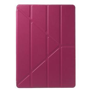 Origami ochranné puzdro na Apple iPad Air - rose - 2