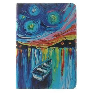 Paint štýlové puzdro pre iPad Air 2 - loďka - 2