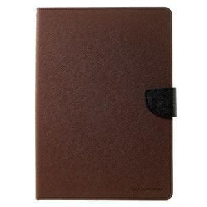Excelent Diary puzdro pre iPad Air 2 - hnedé - 2