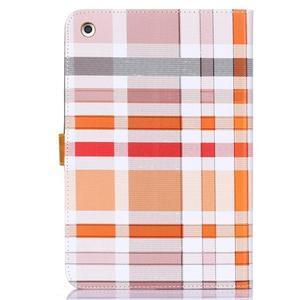 Fashion style puzdro pre iPad Air 2 - svetlohnedé - 2