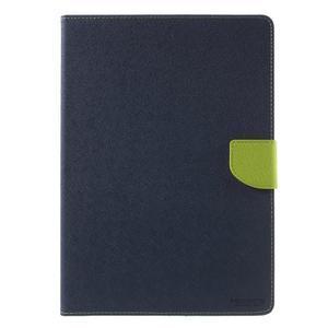 Excelent Diary puzdro pre iPad Air 2 - tmavomodré - 2