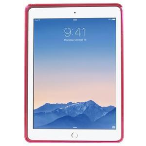 S-line gélový obal na iPad Air 2 - rose - 2