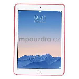 Ultra tenký slim obal pre iPad Air 2 - červený - 2