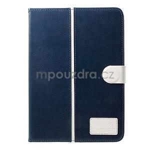 Daffi elegantné puzdro pre iPad Air 2 - tmavomodré - 2