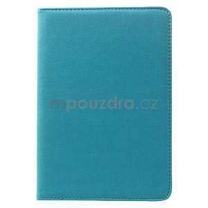 Circu otočné puzdro pre Apple iPad Mini 3, iPad Mini 2 a ipad Mini - modré - 2