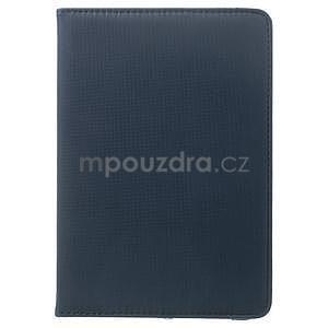 Circu otočné puzdro pre Apple iPad Mini 3, iPad Mini 2 a ipad Mini - tmavomodré - 2