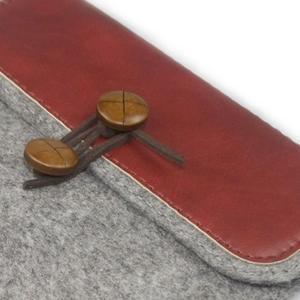 Envelope univerzálne púzdro na tablet 22 x 16 cm - červené - 2