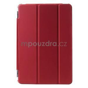 Classic tří polohové puzdro na iPad Mini 3, ipad Mini 2 a na iPad Mini -  červené - 2