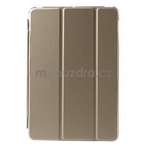 Classic tří polohové puzdro na iPad Mini 3, ipad Mini 2 a na iPad Mini -  champagne - 2