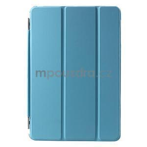 Classic tří polohové puzdro na iPad Mini 3, ipad Mini 2 a na iPad Mini -  modré - 2