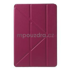 Origami ochranné puzdro iPad Mini 3, iPad Mini 2, iPad mini - rose - 2