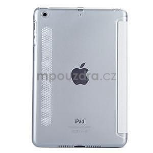 Lines polohovateľné puzdro na iPad Mini 3 / iPad Mini 2 / iPad mini - biele - 2