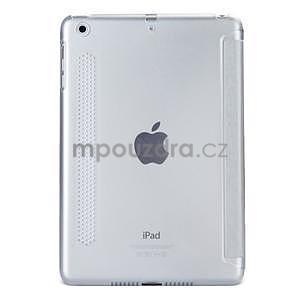 Lines polohovateľné puzdro pre iPad Mini 3 / iPad Mini 2 / iPad mini - sivé - 2
