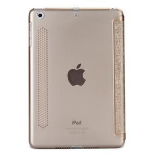 Lines polohovateľné puzdro pre iPad Mini 3 / iPad Mini 2 / iPad mini - zlaté - 2