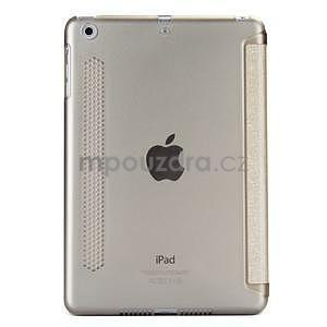 Lines polohovateľné puzdro pre iPad Mini 3 / iPad Mini 2 / iPad mini - champagne - 2
