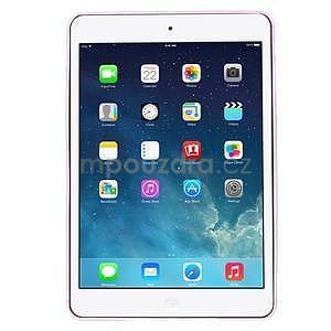 Ultra tenký slim obal na iPad Mini 3, iPad Mini 2, iPad Mini - ružový - 2