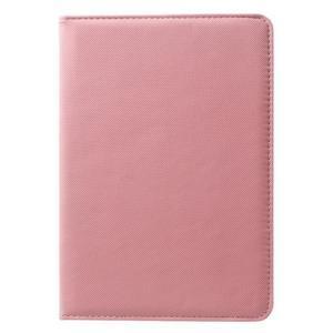 Circu otočné puzdro na Apple iPad Mini 3, iPad Mini 2 a ipad Mini - ružové - 2
