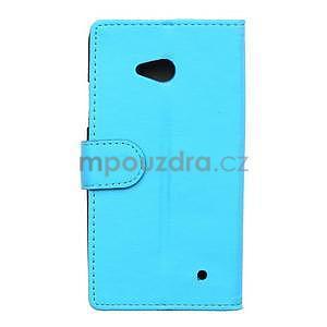 Ochranné peňaženkové puzdro Microsoft Lumia 640 - modré - 2