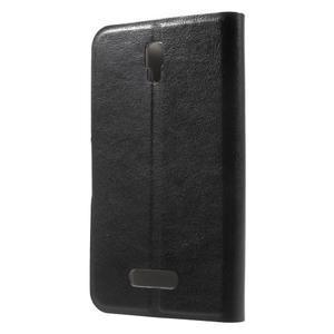 Horse peňaženkové puzdro pre Lenovo A2010 - čierné - 2
