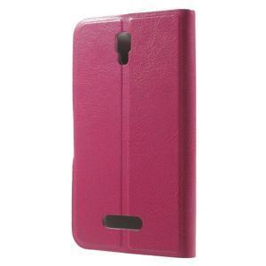 Horse peňaženkové puzdro pre Lenovo A2010 - rose - 2