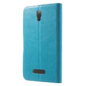 Horse peňaženkové puzdro pre Lenovo A2010 - modré - 2