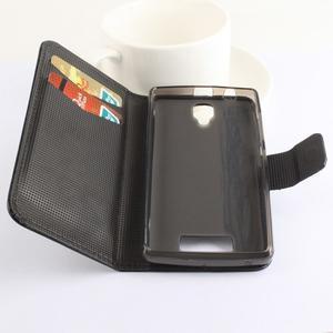 Safety puzdro pre mobil Lenovo A2010 - čierné - 2