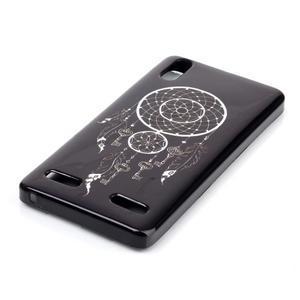 Jelly gélový obal pre mobil Lenovo A6000 - snívanie - 2