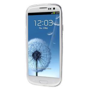 Ultratenký gélový obal na Samsung Galaxy S3 - lotus - 2