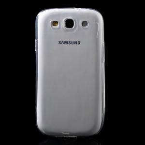 Ultratenký slim 0.6 mm obal na Samsung Galaxy S III / S3 - transparentný - 2