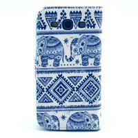 Peňaženkové puzdro pre mobil Samsung Galaxy S III - slony - 2/6