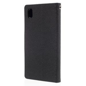Ochranné pouzdro na Sony Xperia M4 Aqua - černé - 2