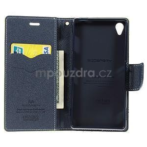 Peňaženkové puzdro pre mobil Sony Xperia Z3 - zelené - 2