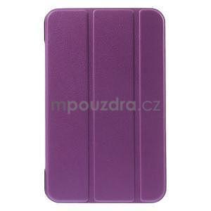 Supreme polohovateľné puzdro na tablet Asus Memo Pad 7 ME176C - fialové - 2