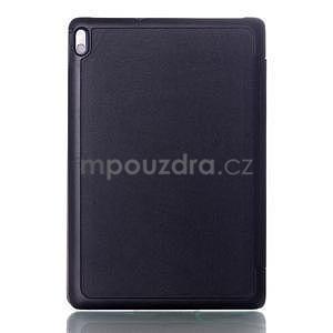 Troj-polohové puzdro pre tablet Lenovo IdeaTab A10-70 - čierne - 2