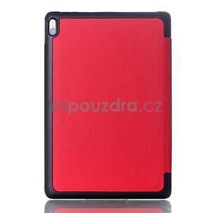 Troj-polohové puzdro pre tablet Lenovo IdeaTab A10-70 - červené - 2