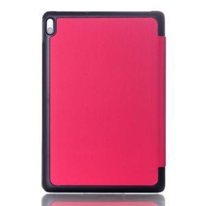 Troj-polohové puzdro na tablet Lenovo IdeaTab A10-70 - rose - 2