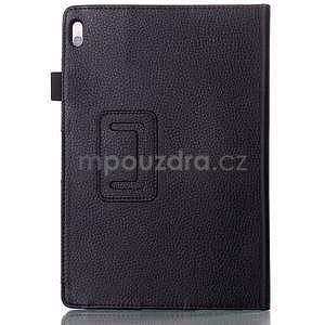 Koženkové puzdro pre tablet Lenovo A10-70 - čierne - 2