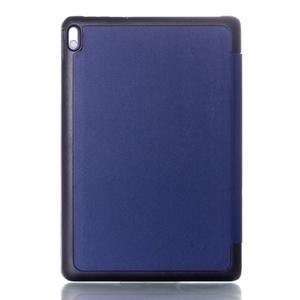 Troj-polohové puzdro na tablet Lenovo IdeaTab A10-70 - tmavomodré - 2