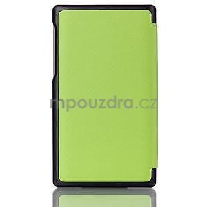 Polohovateľné puzdro pre tablet Lenovo Tab 2 A7-10 - zelené - 2