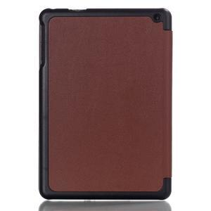 """Troch polohové puzdro na tablet Lenovo IdeaTab Miix 3 8 """"- hnedé - 2"""