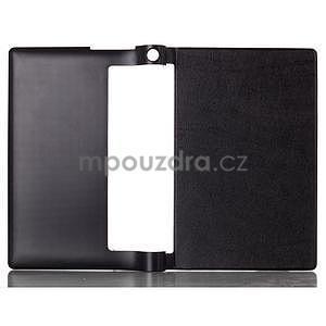 Koženkové puzdro na Lenovo Yoga Tablet 2 8.0 - čierne - 2